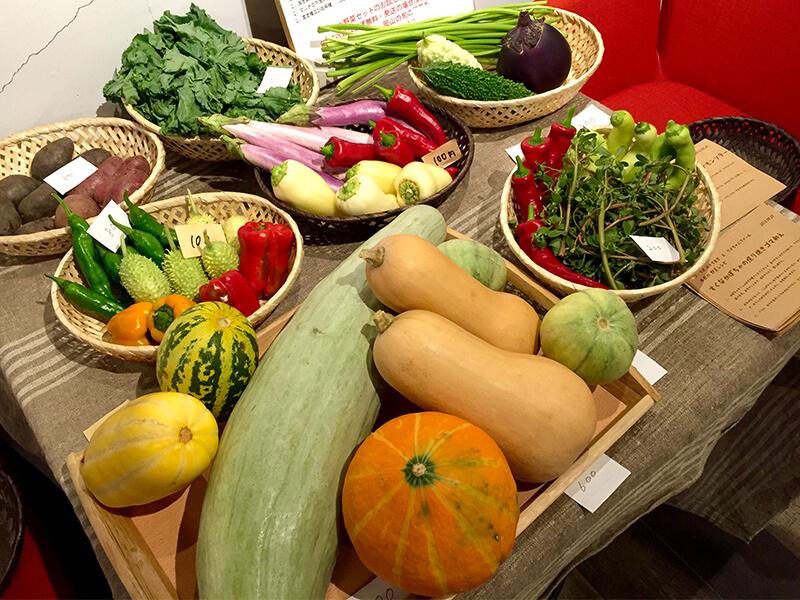 【木曜夜枠のお店紹介】自然農のお野菜と即興料理。コ・ラボ おやぢ食堂